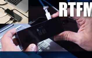 RTFM#90 - DockCase Το πρώτο USB-C hub Smart Dock με οθόνη