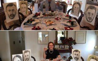 Έναν πρωτότυπο τρόπο βρήκε ο Δημήτρης Κλέτσας για να «φέρει» στο γιορτινό τραπέζ... 2
