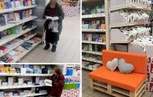 Κάθε μέρα ήταν εκεί. Δεν της περίσσευαν να αγοράσει, αλλά δεν ενοχλούσε και κανέ... 3