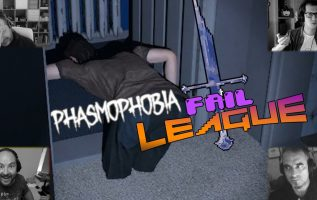 FAIL LEAGUE Boomer Edition: Phasmophobia pt.1