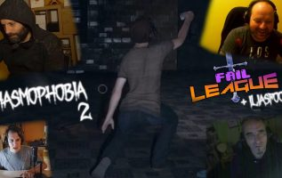 FAIL LEAGUE Boomer Edition: Phasmophobia pt.2 ft. Ilias Foundoulis