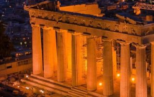 Good night from the beautiful #Acropolis... 4