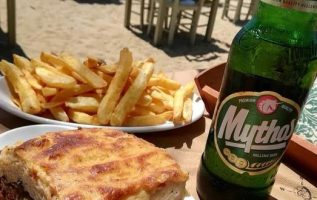 Lunch by the beach in Greece !!... 2