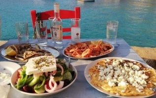 Mmm....The food is delicious in Greece !!. Photo by @zoe_astroulakis... 2