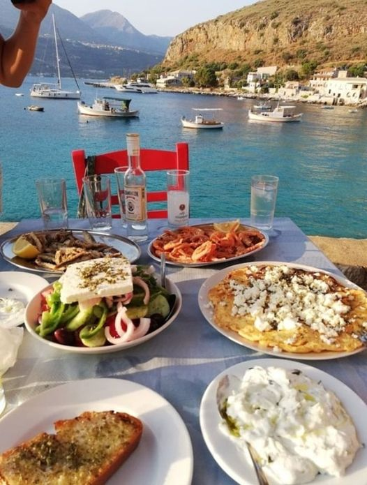 Mmm....The food is delicious in Greece !!. Photo by @zoe_astroulakis... 1