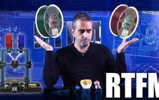 RTFM #89 - 3D εκτυπωτής με 2 filaments: Geeetech A10M