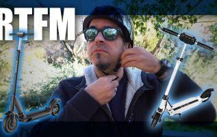 RTFM#79 - Δοκιμάζουμε το ηλεκτρικό πατίνι KUGOO S1 350W - 30km/h (Μόνο 260 ευρώ!)