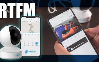 RTFM#84 - Παρακολουθήστε το σπίτι σας με κάμερες 360 μοιρών Reolink