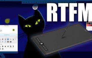 RTFM#87 - Ταμπλέτα σχεδίασης (με γραφίδα χωρίς μπαταρίες) Artisul M0610 Pro