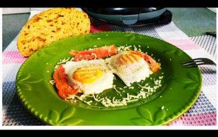 Αυγά χωρίς τηγάνι χωρίς λάδια σε 1,5 λεπτό υγιεινά eggs without oil and pan