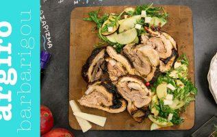 Γεμιστή πανσέτα ρολό στο φούρνο της Αργυρώς | Αργυρώ Μπαρμπαρίγου