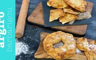 Εύκολα παραδοσιακά τηγανόψωμα χωρίς μίξερ με 3 υλικά της Αργυρώς | Αργυρώ Μπαρμπαρίγου