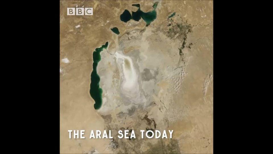 Η Αράλη ήταν κάποτε η τρίτη μεγαλύτερη λίμνη του κόσμου, μετά την Κασπία και την... 1