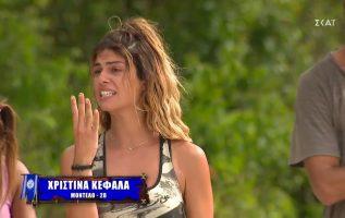 Η Χριστίνα κουνάει το δάχτυλο στην Καρολίνα για τα σχόλιά της για την Μαριάνθη