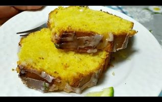 Κέικ Λεμονιού με γλάσο της Γκολφως -Lemon Cake with icing