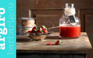 Λικέρ φράουλα της Αργυρώς   Αργυρώ Μπαρμπαρίγου