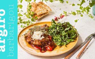 Μπριζολάκια με λαχανικά στο τηγάνι της Αργυρώς   Αργυρώ Μπαρμπαρίγου