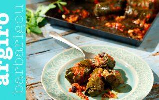 Ντολμαδάκια γιαλαντζι νηστίσιμα στον φούρνο της Αργυρώς | Αργυρώ Μπαρμπαρίγου