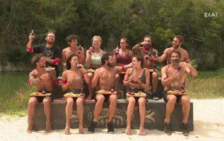 Οι νικητές απολαμβάνουν το έπαθλο με ΒΙΚΟ COLA ZERO   Survivor   08/03/2021