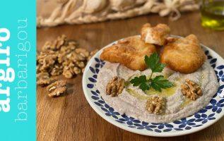 Σκορδαλιά παραδοσιακή με ψωμί και καρύδια με όλα τα μυστικά της Αργυρώς   Αργυρώ Μπαρμπαρίγου