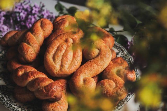 Συνταγή για παραδοσιακά κουλουράκια βουτύρου... 1