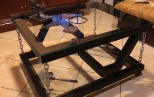 Τραπέζι αντί βαρύτητας και η τεχνική του βήμα βήμα /ultimate tensegrity table