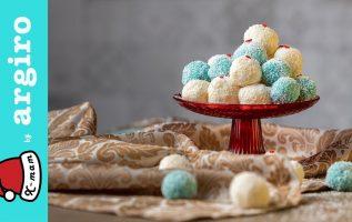Χιονούλες με ινδοκάρυδο της Αργυρώς   Χ-mam   Αργυρώ Μπαρμπαρίγου
