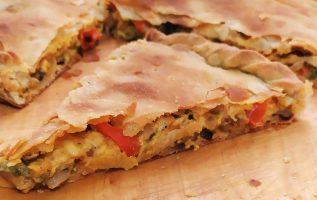 δείτε πώς θα φτιάξετε ΜΑΝΙΤΑΡΟΠΙΤΑ νόστιμη της Γκόλφως mushrooms pie 🥧