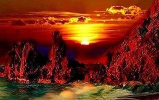 Όμορφο ηλιοβασίλεμα Καληνύχτα με... 3