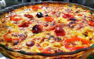 μια Πατάτα 🥔 μια Μελιτζάνα 🍆 ντομάτα 🍅 και τυριά και έχετε φαγητο που  θα λατρέψετε ευκολακι