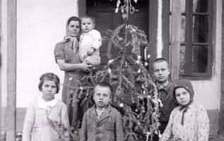 Ποζάρουν μπροστά στο φτωχό χριστουγεννιάτικο δέντρο, ελπίζοντας σε μια καλύτερη ... 7
