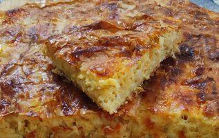 φτιάξτε την πιο ωραία ΚΑΣΕΡΟΠΙΤΑ της Γκόλφως σε 5 ' Cheese 🧀 pie 🥧
