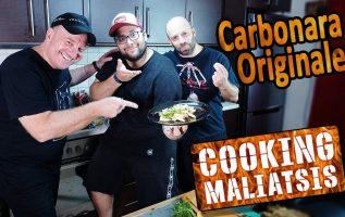 Cooking Maliatsis - 137 Carbonara Originale ft. Έκτορας Μποτρίνι
