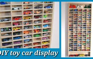 DIY toy car display by Empnoia.