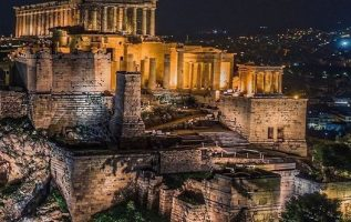 Good night from the beautiful #Acropolis... 2
