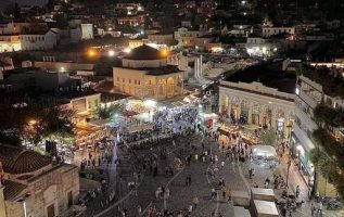 Goodnight from under the Acropolis in beautiful Monastiraki... 2