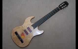 How we make it! Μια νέα κιθάρα από μια χαλασμένη (slide show + vιdeo). Ενεργοποιήστε τους υπότιτλους