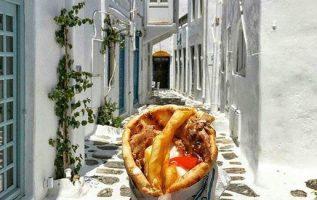 Mmmm....Greek Gyros is the best !!.... 5