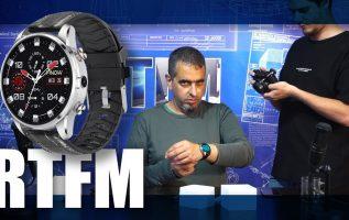 RTFM#59 - Γκουμουτσορολόι-τηλέφωνο: FINOW X7 Smartwatch Phone