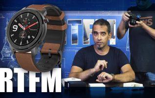 RTFM#70 - Amazfit GTR Smartwatch: μια φόρτιση το μήνα αρκεί