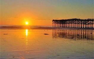 Sunset in Pacific Beach,San Diego,California USA... 2