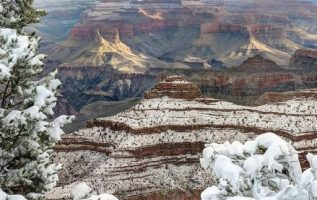 The Grand Canyon in the winter... 5