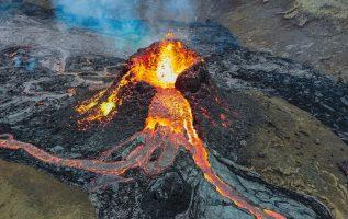 Γυρίσαμε ένα Ηφαίστειο με ένα drone! Ηφαίστειο της Ισλανδίας Μάρτιος 2021 2