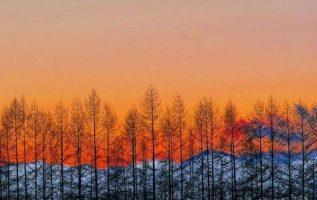 Winter sunset - Hokkaido - Japan .... 3