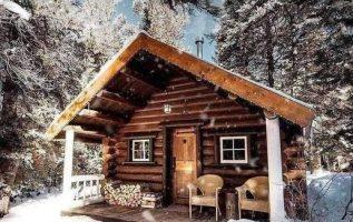 Winter wonderland @roughlogcabin... 5