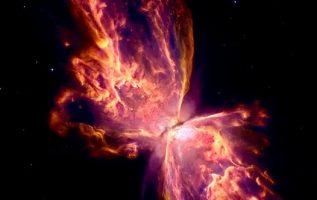 Το Νεφέλωμα της Πεταλούδας, 4.000 έτη φωτός μακριά από τη Γη. φωτογραφία από τη ... 5