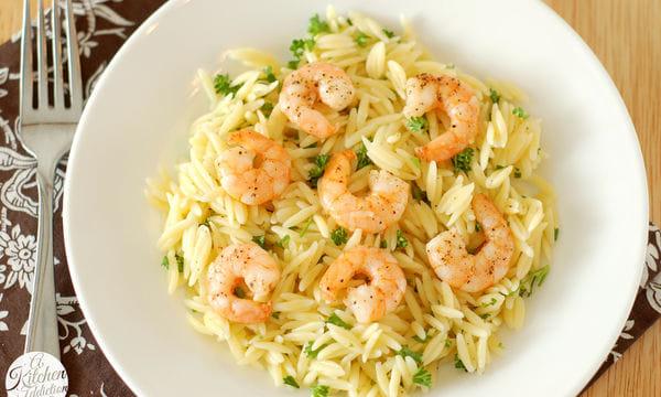 Νηστίσιμη συνταγή: Κριθαρότο με γαρίδες και λεμόνι... 1