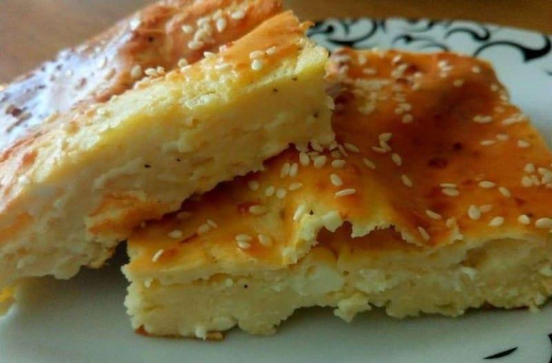 Τα παιδιά σας θα λατρέψουν αυτή την τυρόπιτα χωρίς φύλλο με φέτα και γιαούρτι... 1