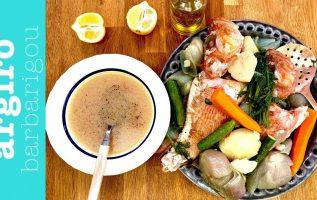 Ψαρόσουπα παραδοσιακή της Αργυρώς   Αργυρώ Μπαρμπαρίγου