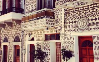 Οι ζωγραφισμένες καμάρες και προσόψεις των σπιτιών στο Πυργί, επίσης στη Χίο... 3